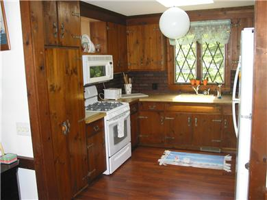 South Chatham Cape Cod vacation rental - Large, comfortable Kitchen