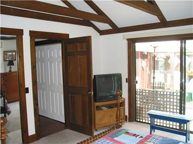 South Chatham Cape Cod vacation rental - Master has laundry just out off hallway
