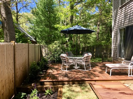 Cotuit Cotuit vacation rental - Back Deck and Yard