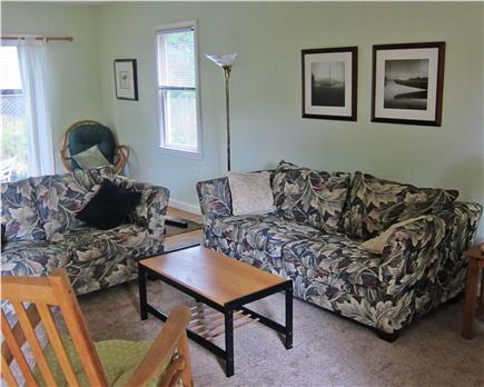 Cotuit Cotuit vacation rental - Living Room - Hardwood Floors and Sliding Glass to Patio