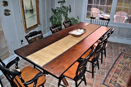 Chatham Cape Cod vacation rental - Terrace Room - Ships Table
