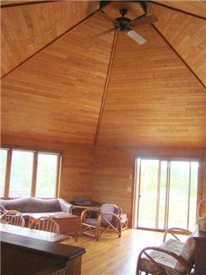 North Truro Cape Cod vacation rental - The great room
