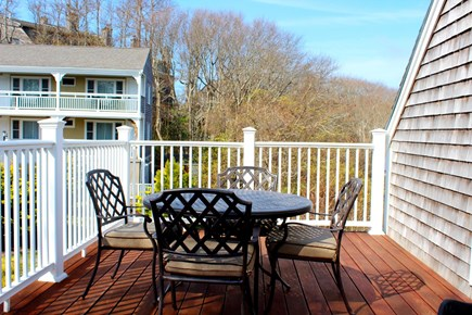 Provincetown Cape Cod vacation rental - Outdoor deck.