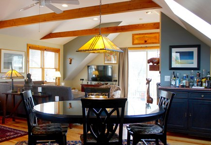 Provincetown Cape Cod vacation rental - Great room (dining area).
