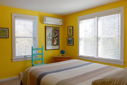 Provincetown Cape Cod vacation rental - Yellow bedroom.