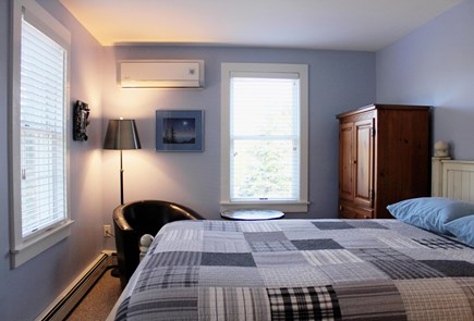 Provincetown Cape Cod vacation rental - Blue bedroom.