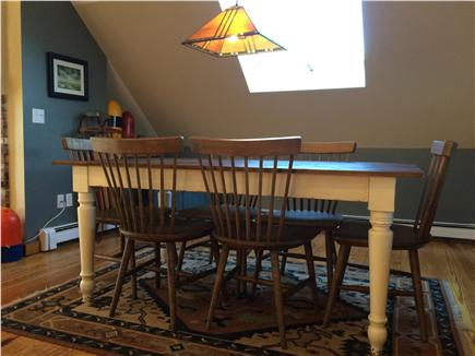 Provincetown Cape Cod vacation rental - Great Room Dining Area