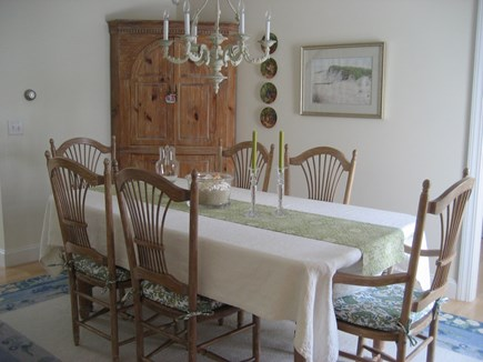 Chatham, In Olde Village near Mill Pond Cape Cod vacation rental - Dining Room