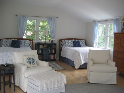 Chatham, In Olde Village near Mill Pond Cape Cod vacation rental - Master Suite with 2 Double Beds