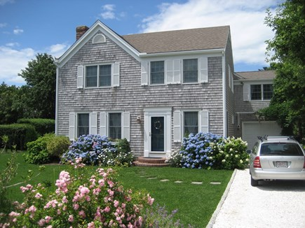 Chatham, In Olde Village near Mill Pond Cape Cod vacation rental - Front House and Driveway