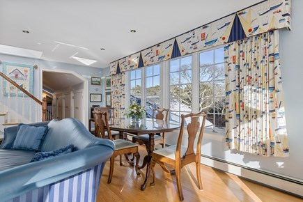 Chatham, downtown Cape Cod vacation rental - Large table for games, puzzles, or a mid-night snack