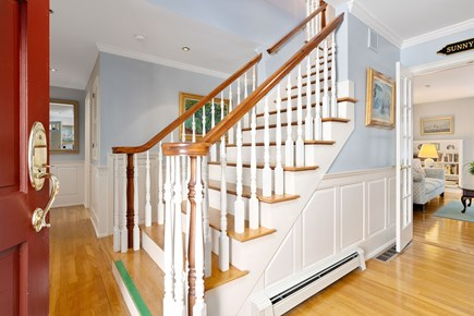 Chatham, downtown Cape Cod vacation rental - Bridal staircase