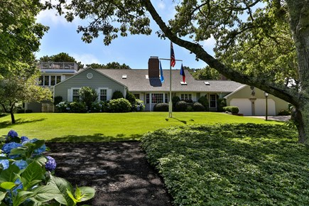 Chatham, downtown Cape Cod vacation rental - Nicely landscaped and colorful front yard