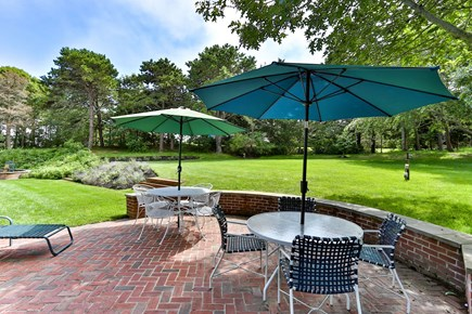 Chatham, downtown Cape Cod vacation rental - One of two spacious patios for outside dining and sunbathing.