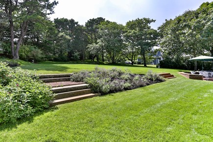 Chatham, downtown Cape Cod vacation rental - Nicely landscaped tiered back yard