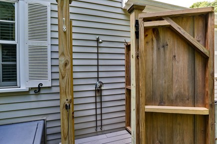 Chatham, downtown Cape Cod vacation rental - Nothing like taking an outside shower after a day at the beach
