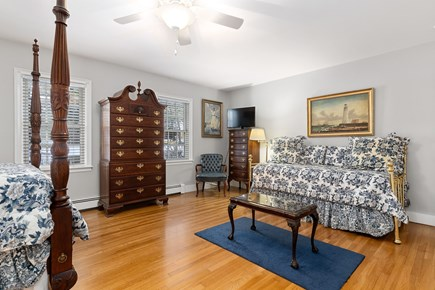Chatham, downtown Cape Cod vacation rental - Trundle bed  available in first floor master to sleep two more.
