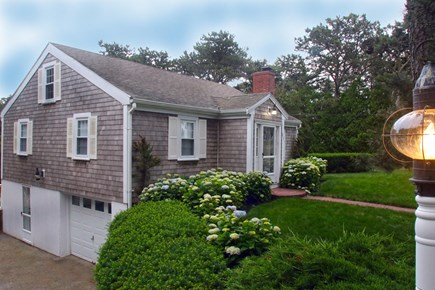Chatham Cape Cod vacation rental - One car garage for bikes and golf clubs. Exterior entry.