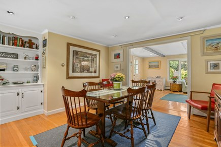 Chatham Cape Cod vacation rental - Dining area, opening to Family Room