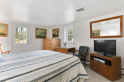 Chatham Cape Cod vacation rental - 2nd Queen bedroom has private outside entrance and inside access