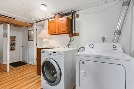 Chatham Cape Cod vacation rental - Front Load HE washer and new dryer