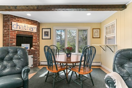 Chatham Cape Cod vacation rental - Great table for games/puzzles, dining w/pass through from kitchen