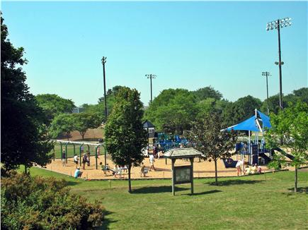 Chatham Cape Cod vacation rental - Chatham Town Playground... Environmentally-safe Fun for Kids!