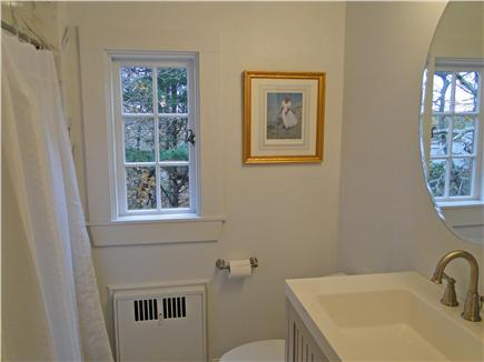 Chatham Cape Cod vacation rental - Upstairs full bathroom with new tile, fixtures