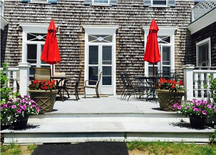 Chatham Cape Cod vacation rental - Lovely deck area, with water views