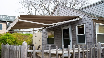 Eastham Cape Cod vacation rental - Awning