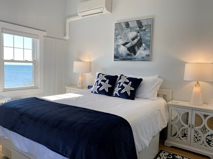 Dennis Port-Ocean Front Cape Cod vacation rental - Seascape Master BR w/ Queen Bed; Flat Screen TV & Oceanviews