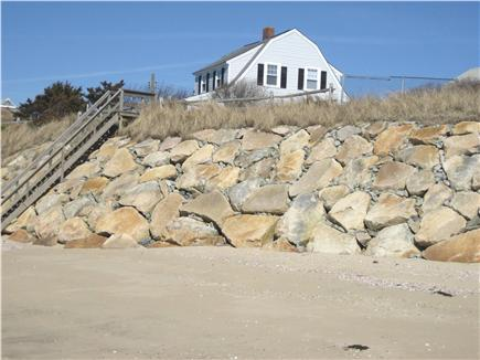 Dennis Port Cape Cod vacation rental - Main house: View from private beach on Nantucket Sound