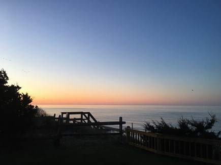 Dennis Port-Ocean Front Cape Cod vacation rental - Sunrise View from your yard!