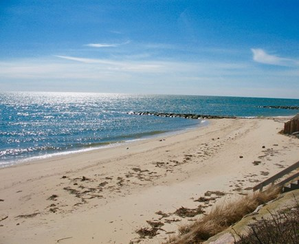 Dennis Port-Ocean Front Cape Cod vacation rental - Fun in the Sun! View from your front yard! 100' Private Beach