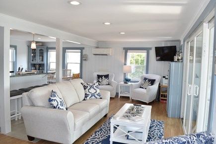 Dennis Port-Ocean Front Cape Cod vacation rental - Seascape Living Area