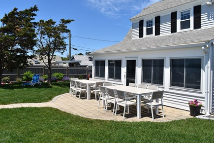 Dennis Port-Ocean Front Cape Cod vacation rental - Seascape Vacation Rental w/outdoor dining for 16 people.