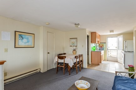 West Dennis Cape Cod vacation rental - Living Room & Kitchen & Dining Area