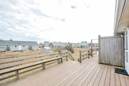 West Dennis Cape Cod vacation rental - Deck
