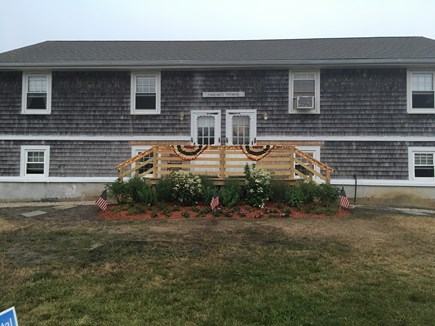 West Dennis Cape Cod vacation rental - Front view of full duplex (only half included in rental)