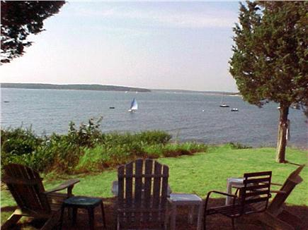 North Falmouth (Megansett) Cape Cod vacation rental - Back yard  views are water, birds and beach. Bring binoculars.