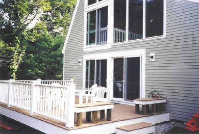 New Seabury New Seabury vacation rental - Large spacious deck