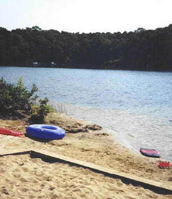 New Seabury New Seabury vacation rental - Fresh water beach steps from house