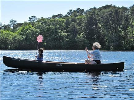 Wellfleet Cape Cod vacation rental - Canoe Ride