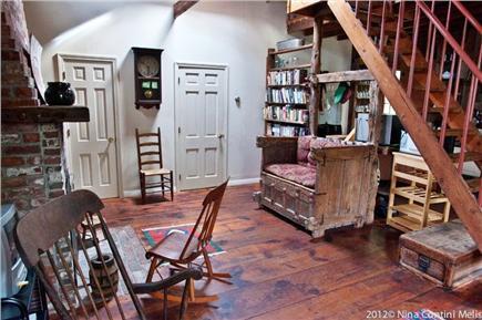 Wellfleet Cape Cod vacation rental - Fireplace Area