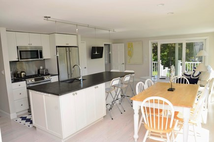 Chatham Cape Cod vacation rental - Dining area of open floor plan