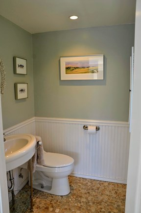 Chatham Cape Cod vacation rental - Half bath located in the main house