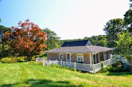 Chatham Cape Cod vacation rental - Enjoy the spacious yard and quiet setting to have fun or relax