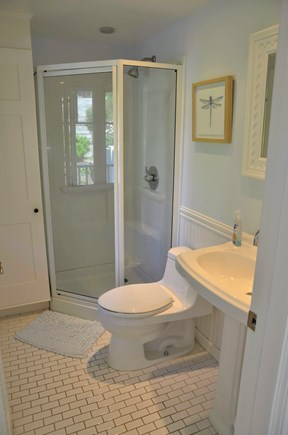 Chatham Cape Cod vacation rental - Recently remodeled bathroom in the main house