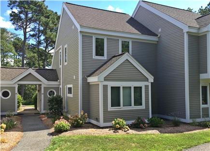 Brewster Cape Cod vacation rental - Private entrance to Ocean Edge 2 bedroom + loft townhouse