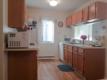 Brewster Cape Cod vacation rental - Fully equipped gallery kitchen w/brand new range&fridge